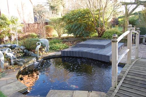 Highfil filtration koi waterlife for Koi pool opening times